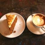 Carrotcake en koffie