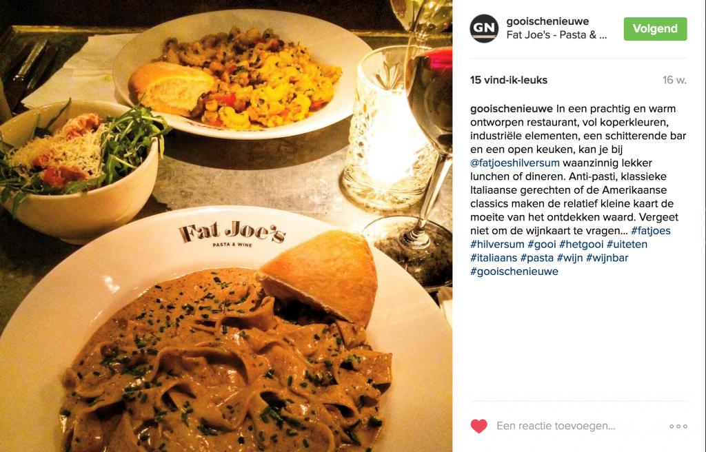 Vergeet niet Gooische Nieuwe te volgen op instagram.