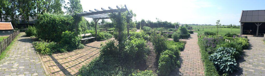 Tuin van Kinderboerderij Juffrouw Jansen op de Meent