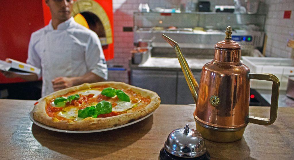 La Vespa Pizzeria in Laren én Bussum
