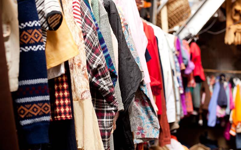 Vintage kleding shop