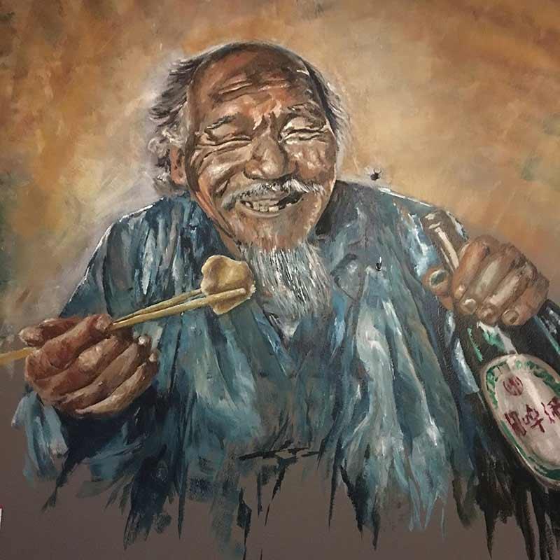 A-Fusion Naarden schilderij Aziatisch